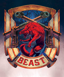 Beast - Coat of Arm- by XRobinGoodFellowX