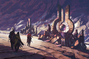 Numenera illustration- by XRobinGoodFellowX