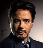 Tony Stark request by RideFire