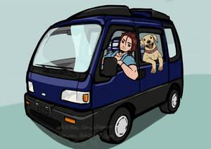 Banban's Van with Bunbuns!