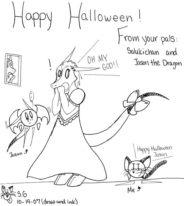 'Happy' Halloween by salukichan on DeviantArt