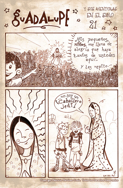 Virgen de Guadalupe -siglo 21- by satchmau