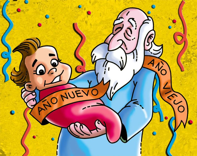 Chabelo postal anio nuevo01 by satchmau on deviantart for En familia con chabelo