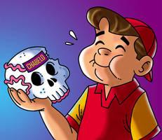 Chabelo: postal Dia de Muertos by satchmau