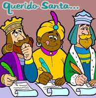 Chabelo: postal Reyes Magos 06 by satchmau