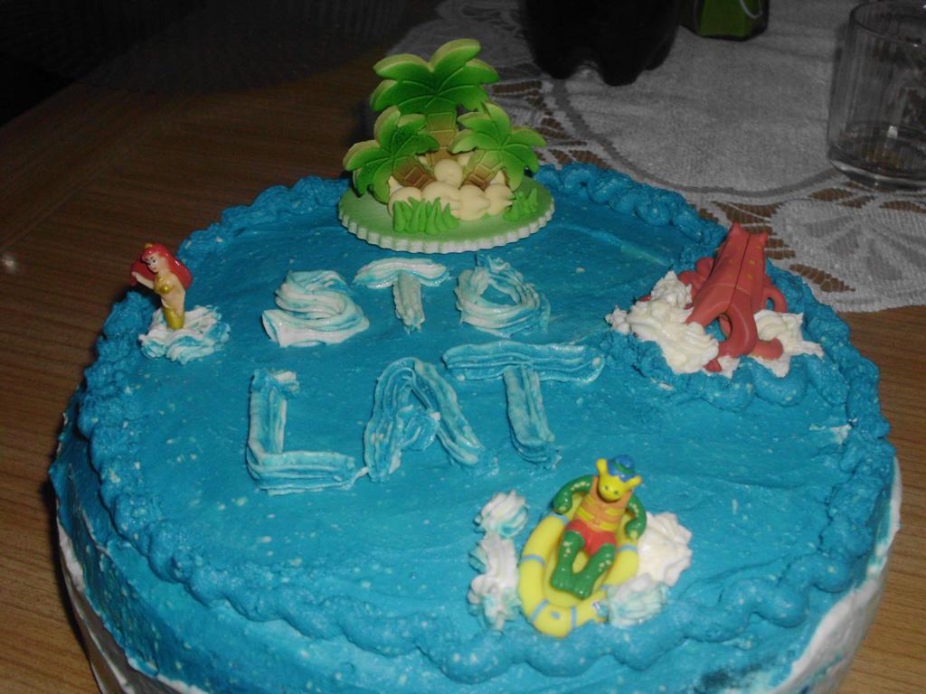 Sea Of Monsters Birthday Cake By Porannagwiazda On Deviantart