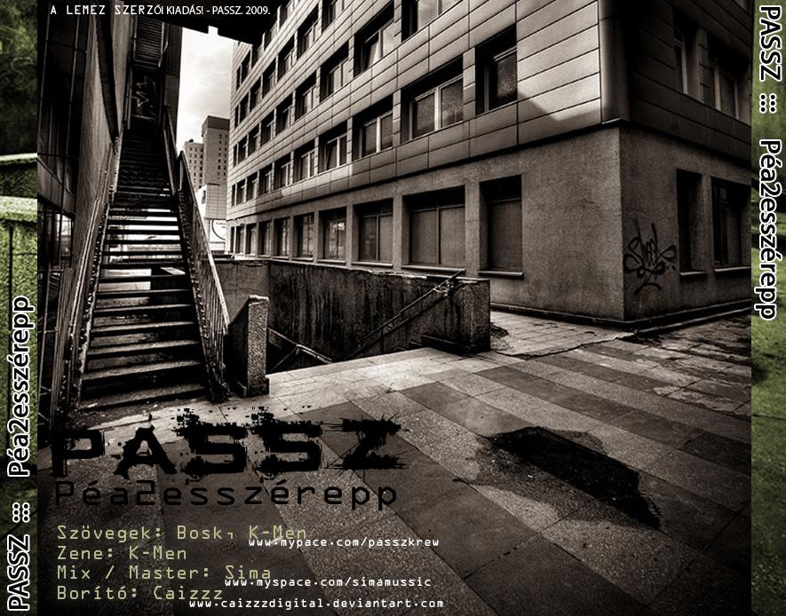 Passz - ALBUM COVER 2 by caizzzdigital