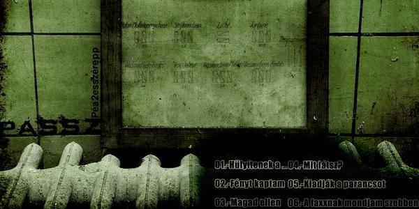 Passz - ALBUM COVER 3 by caizzzdigital