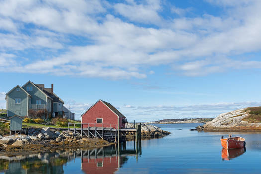 Peggy's Cove view # 1