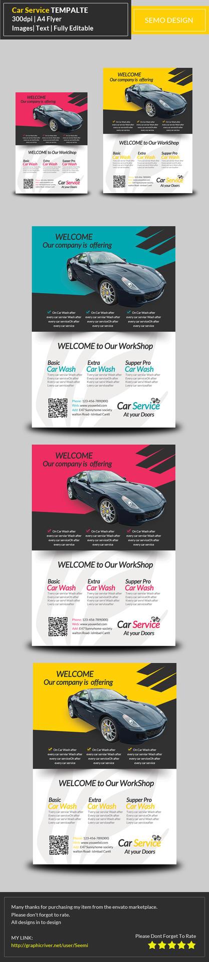autodetailing – Auto Detailing Flyer Template