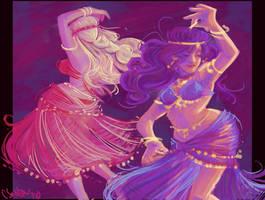 Belly Dancer Speedpaint by Oniwolf12