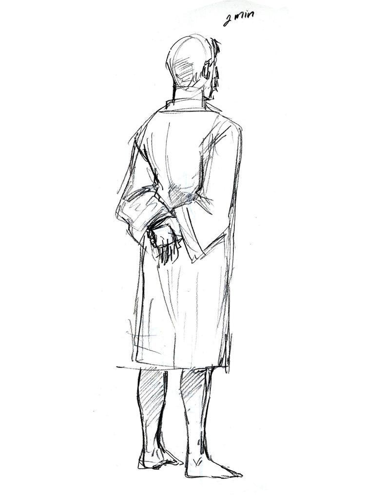 2 min sketch by Oniwolf12