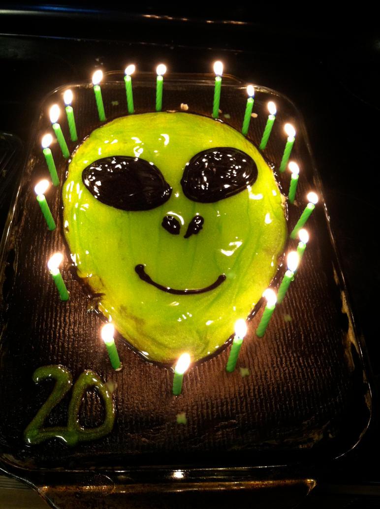 My Brothers Birthday Cake By Porkupinez99 On Deviantart
