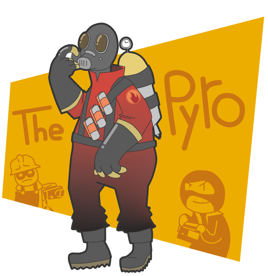 -The Pyro- by SrPelo