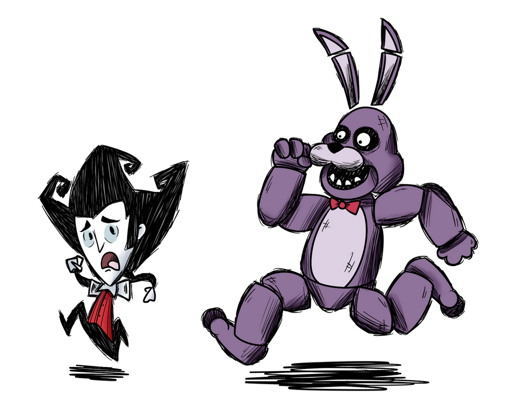 Don T Starve At Freddy S By Srpelo On Deviantart