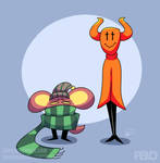 Undertale - Demon And Rat