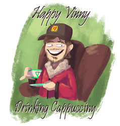 The Fun of Drawing - Happy Vinny