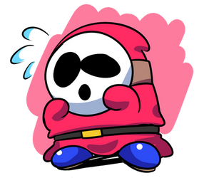 The Fun of Drawing - Shy Guy by SrPelo