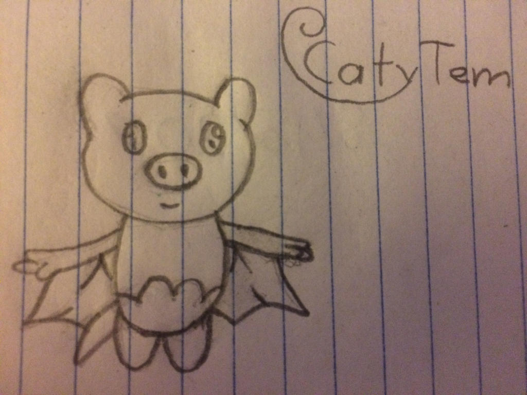 Art Trade: a little Pinky by CatyTem