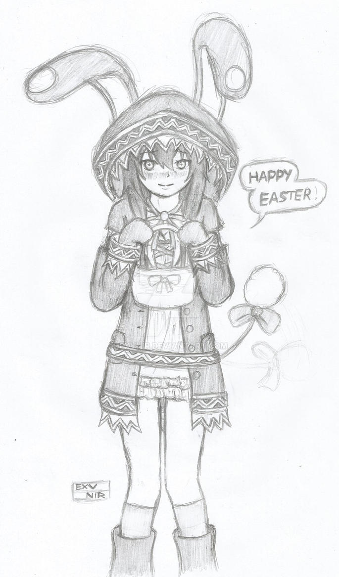 RWBY: Easter Bunny by Exvnir