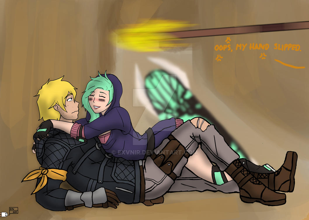 RWBY: Slipped by Exvnir