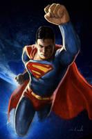 SUPERMAN SAMPLE by galindoart