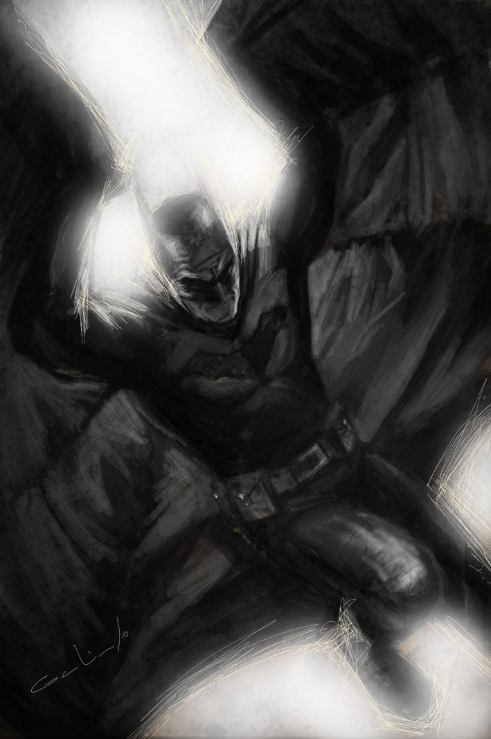 BATMAN SAMPLE by galindoart