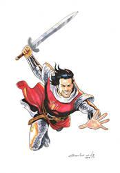 Capitan Trueno by galindoart