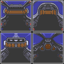 StarFox2 Cockpits Set