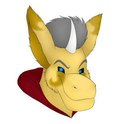 Cion Headshot (3rd Place Prize) by Salvagio2001