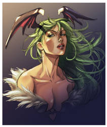 Morrigan by Yleniadn86