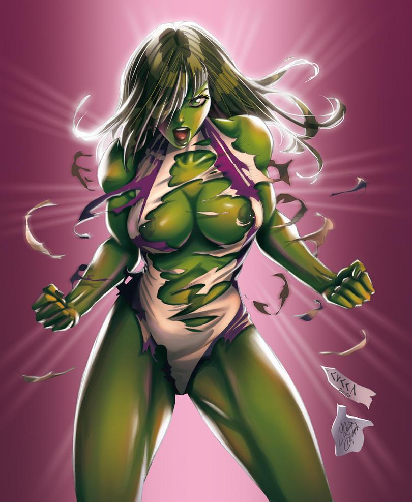 She Hulk by Yleniadn86