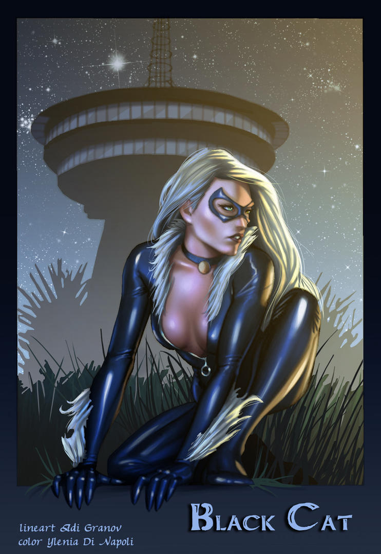 Black Cat by Yleniadn86