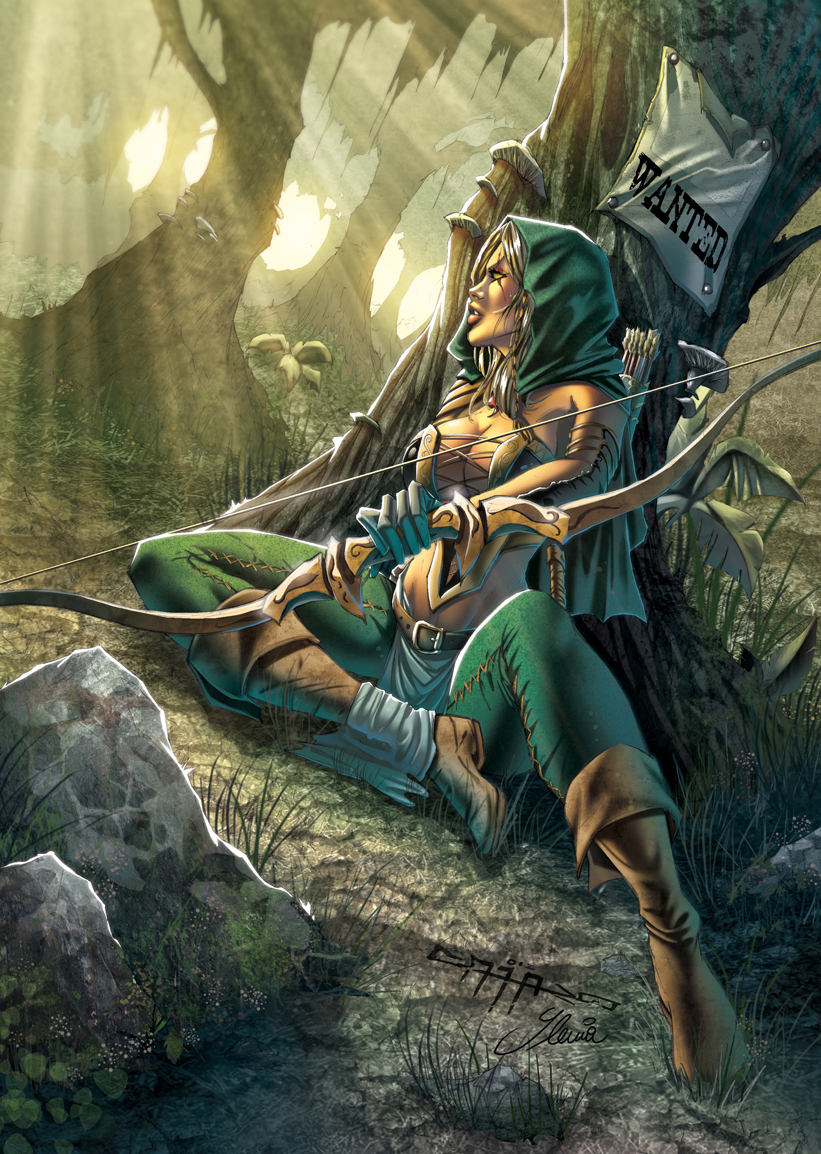 Robin Hood by Yleniadn86