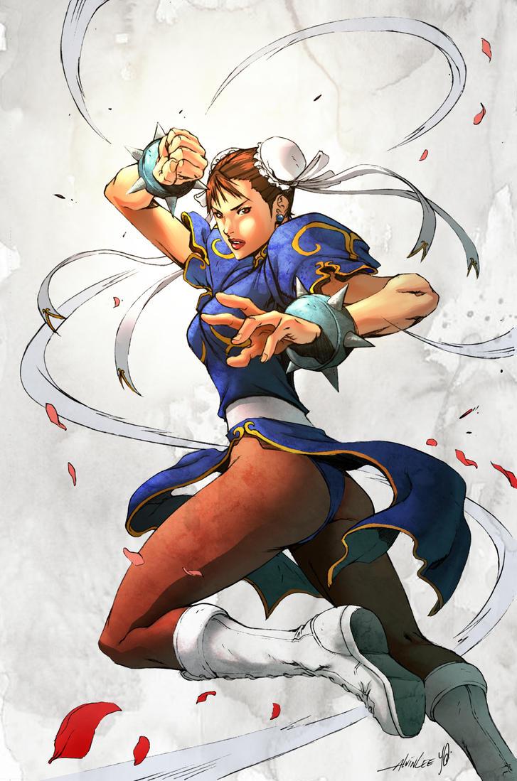 Chun-Li by Yleniadn86