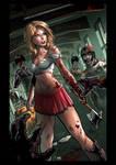 Zombie vs Cheerleader cover