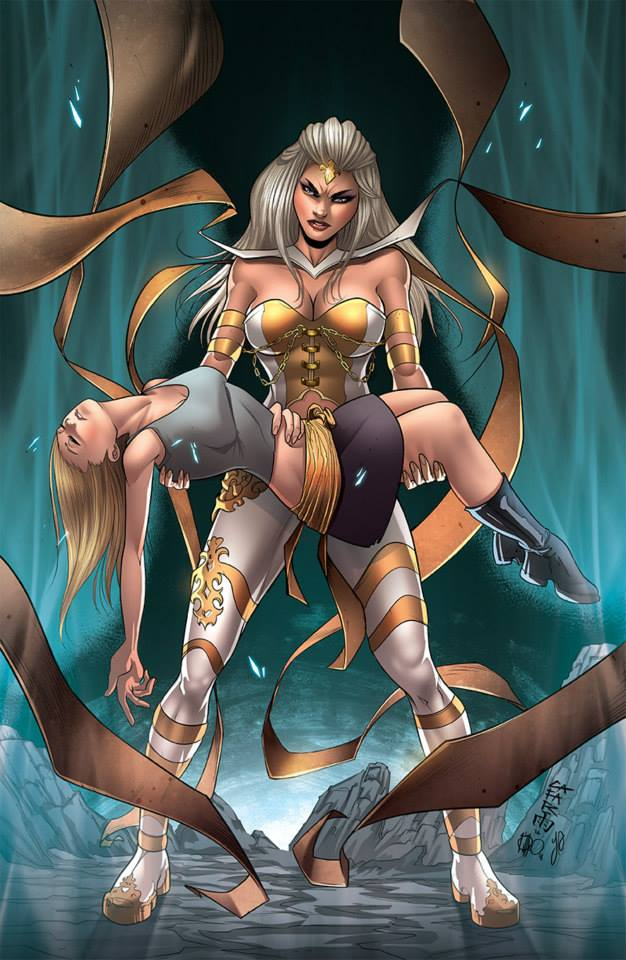 Grimm Fairy Tales - White Queen#3 B by Yleniadn86