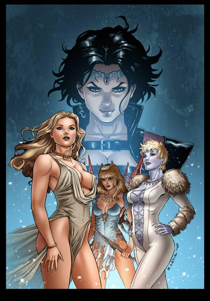 Grimm Fairy Tales -  CINDERELLA #2 cover A by Yleniadn86