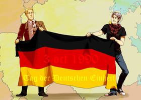 german unification by Blue-Fox