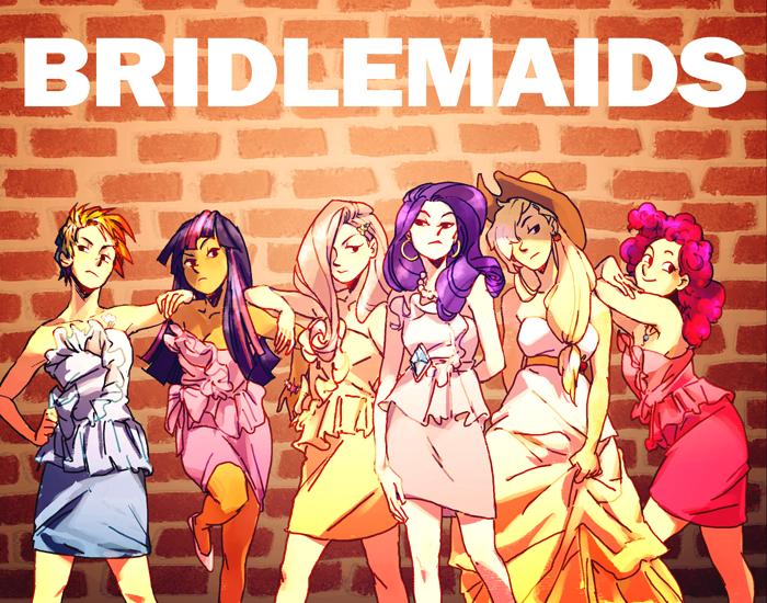 my little bridesmaid