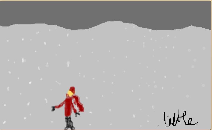 Snow......... by littlekookygem10