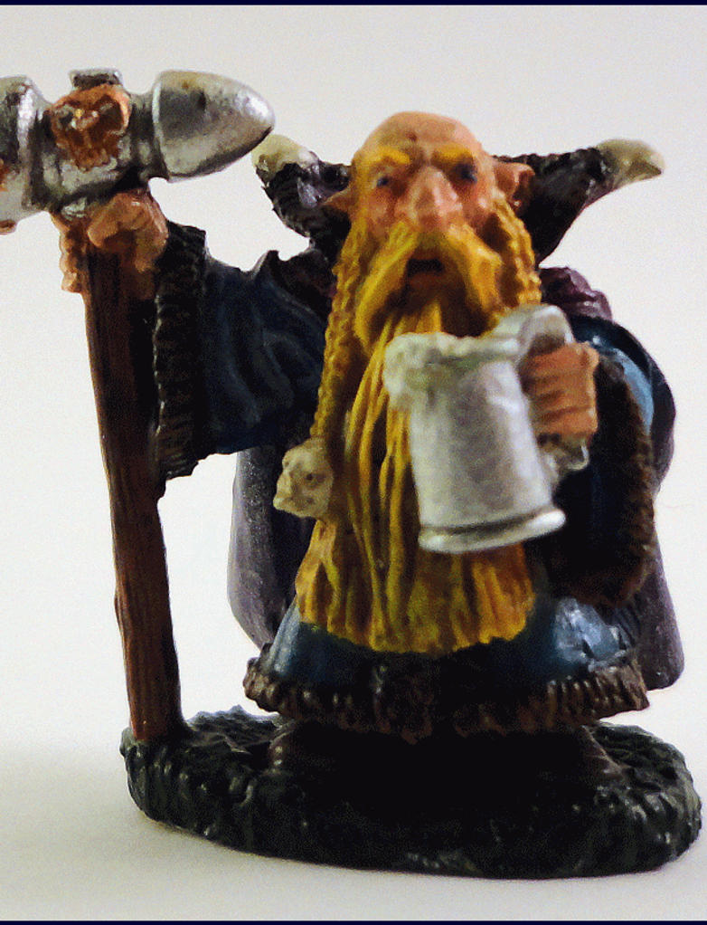 Dwarven Cleric by Scienceandart