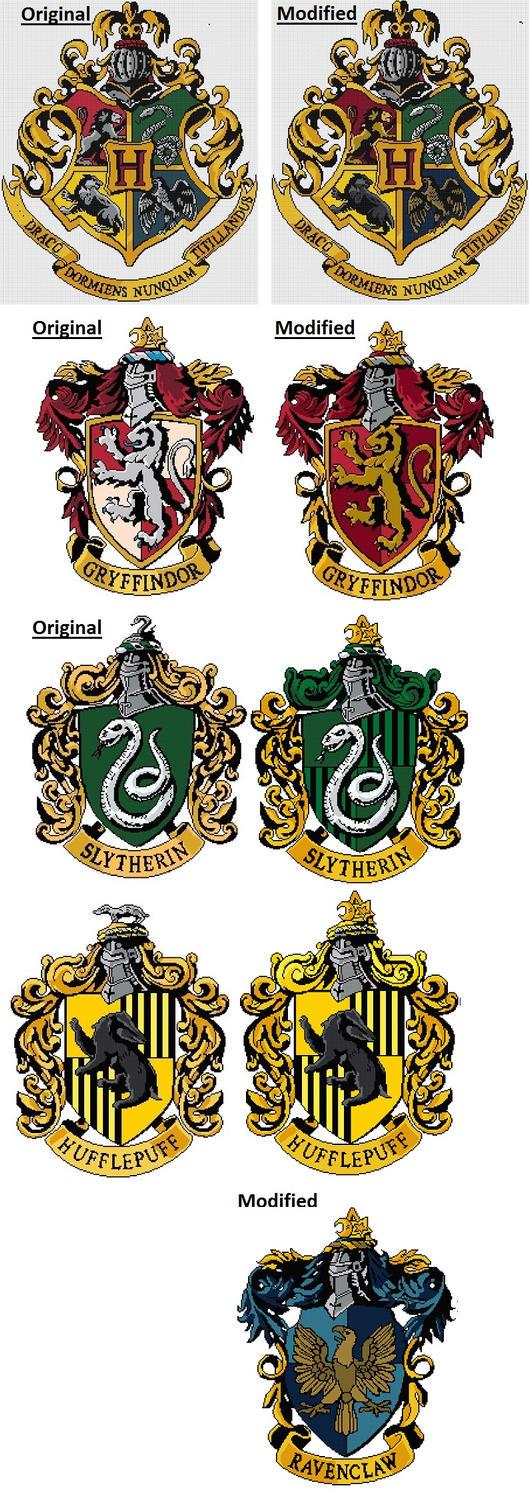 Hogwarts Comparision by Scienceandart