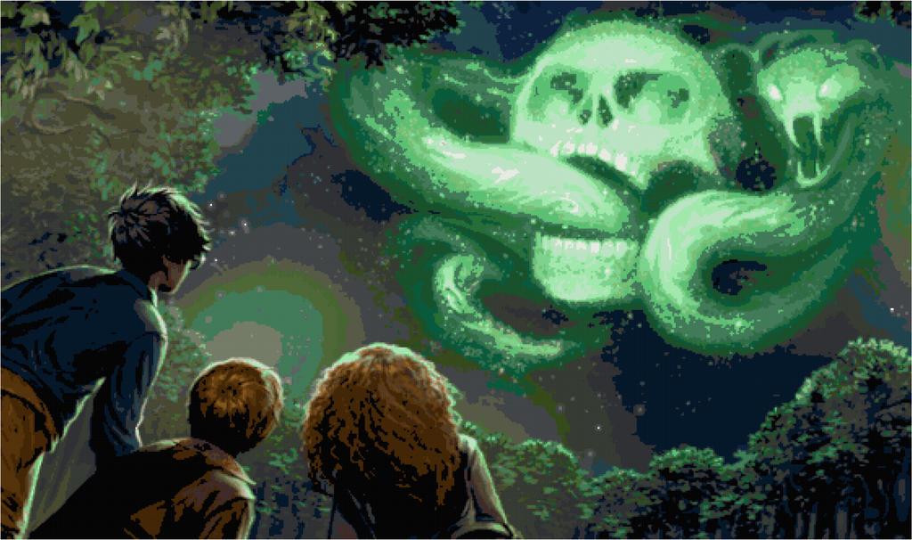 The Dark Mark by Scienceandart