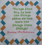 Granny is a wise one by HGKitten
