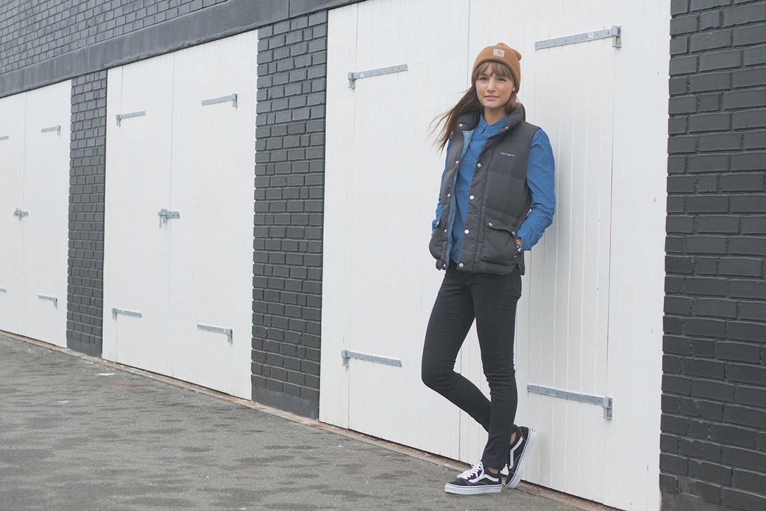 Carhartt Wallpaper: Carhartt With Kirsten For SA By 2h-photography On DeviantArt