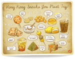 Hong Kong Snacks You Must Try!