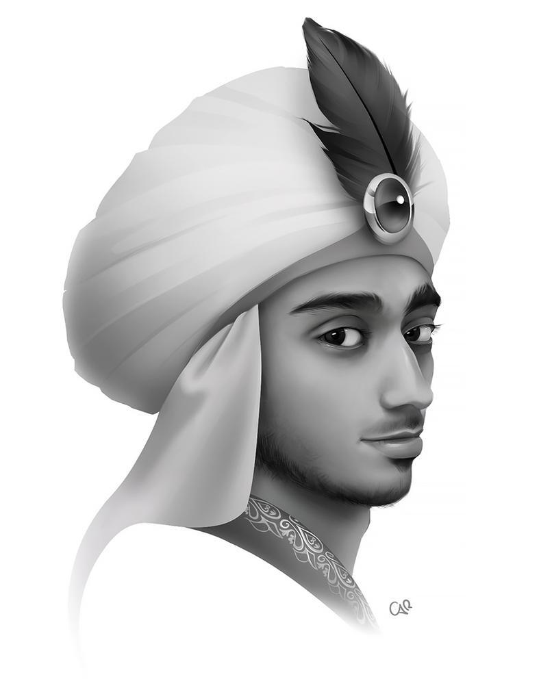 Arabian Prince by CarinaT