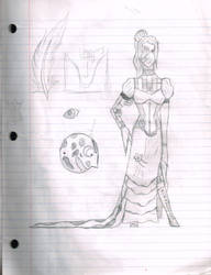 Steampunk Girl by CosmicGalaxies