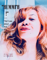 Miss Pinup : Hummph! by MAGDALENECARMEN
